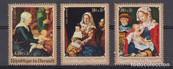 Sellos: BURUNDI - Navidad - 1970 - Serie completa 6v (Nr. Michel: 679/84) - Foto 2 - 172781183