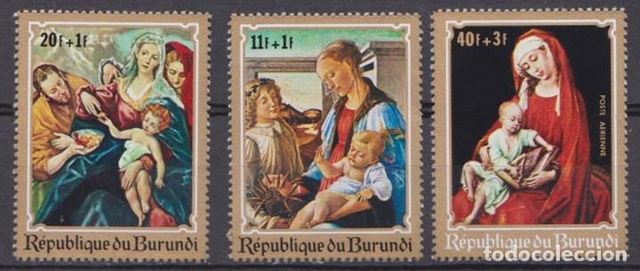 BURUNDI - NAVIDAD - 1970 - SERIE COMPLETA 6V (NR. MICHEL: 679/84) (Sellos - Temáticas - Navidad)