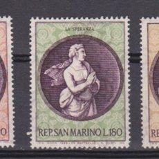 Sellos: SAN MARINO - NAVIDAD - 1969 - SERIE COMPLETA 43V (NR. YVERT: 746/48). Lote 172781554
