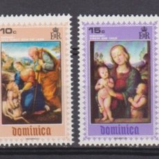 Sellos: DOMINICA - NAVIDAD - 1969 - SERIE COMPLETA 4V (NR. YVERT: 282/85). Lote 172784025
