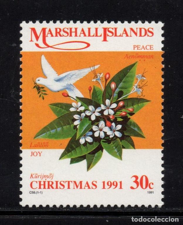 MARSHALL 376** - AÑO 1991 - NAVIDAD (Sellos - Temáticas - Navidad)
