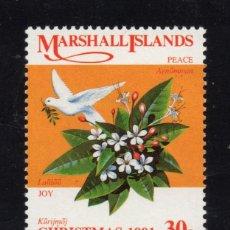 Timbres: MARSHALL 376** - AÑO 1991 - NAVIDAD. Lote 173793030