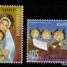Sellos: HUNGRIA 4420/21** - AÑO 2010 - NAVIDAD. Lote 177179723