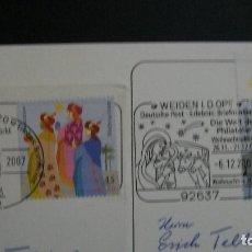 Sellos: ALEMANIA-2007-Y&T 2452/3-SERIE COMPLETA EN USADO /º/-MATASELLOS CONMEMORATIVOS. Lote 179212091