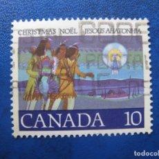 Sellos: -CANADA, TEMA NAVIDAD, SELLO USADO. Lote 179529875