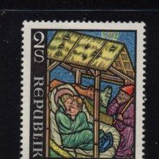 Sellos: AUSTRIA 1264** - AÑO 1973 - NAVIDAD - VIDRIERA. Lote 180112517