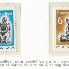 Sellos: CANADA - NAVIDADES 1968 - 2 VALORES - NR. MICHEL: 430/31. Lote 183176086