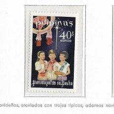 Sellos: FILIPINAS - NAVIDADES 1968 - 3 VALORES - NR. MICHEL: 863/65. Lote 183176332