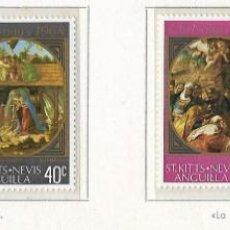 Sellos: ANGUILLA - NAVIDADES 1968 - 4 VALORES - NR. MICHEL: 184/87. Lote 183177526