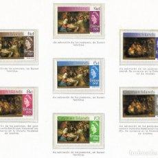 Sellos: ISLAS CAIMAN - NAVIDAD 1968 - 7 VALORES - . Lote 183178118