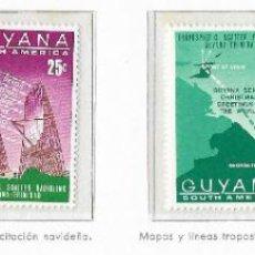 Sellos: GUAYANA - NAVIDADES 1968 - 4 VALORES - Nº 00307/10. Lote 183178577