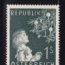 Sellos: NAVIDAD003 AUSTRIA 1953 NUEVO ** MNH. Lote 183912297