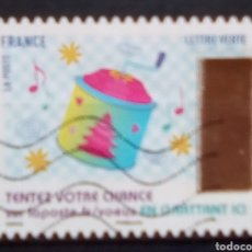 Sellos: FRANCIA RECIENTE NAVIDAD SELLO USADO. Lote 187314218
