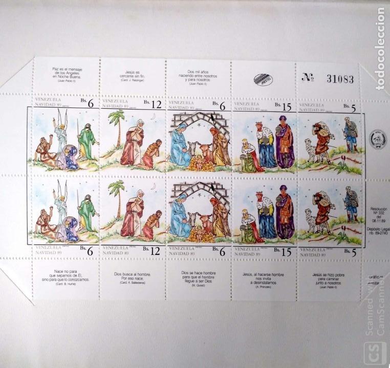 VENEZUELA. 1461/65 + 1461A/65A NAVIDAD: PASTORES, CORDERO, SANTA FAMILIA, PASTORES, REYES MAGOS, PRE (Sellos - Temáticas - Navidad)