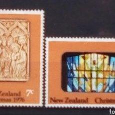 Timbres: NUEVA ZELANDA NAVIDAD 1976 SERIE DE SELLOS NUEVOS. Lote 191507708
