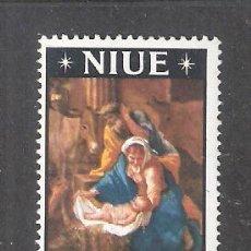 Timbres: NIUE Nº 106* NAVIDAD 1967. PINTURA. COMPLETA. Lote 193612838