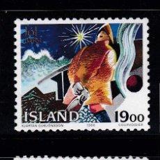 Sellos: NAVIDAD157 ISLANDIA 1988 NUEVO ** MNH. Lote 194212898