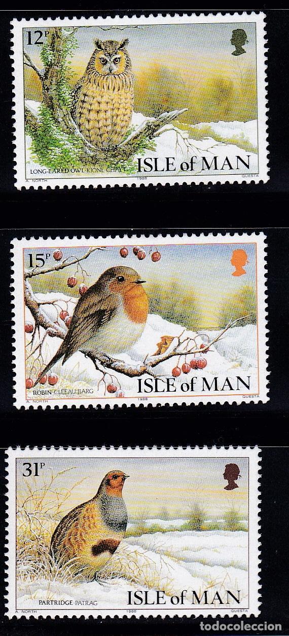 NAVIDAD166 ISLA MAN 1988 NUEVO ** MNH (Sellos - Temáticas - Navidad)