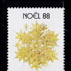 Sellos: NAVIDAD163 MONACO 1988 NUEVO ** MNH. Lote 194215533