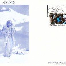 Sellos: EDIFIL 3084/5, NAVIDAD 1990, PRIMER DIA DE 22-11-1990 FLASH. Lote 194495420