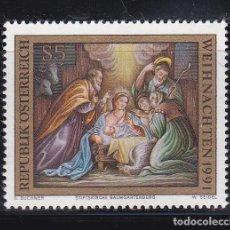 Sellos: NAVIDAD196 AUSTRIA 1991 NUEVO ** MNH. Lote 207105562