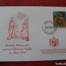 Selos: LIECHTENSTEIN 2003, FELICITACION DE NAVIDAD Y AÑO NUEVO 2004 DEL SERVICIO FILATELICO. Lote 198503297