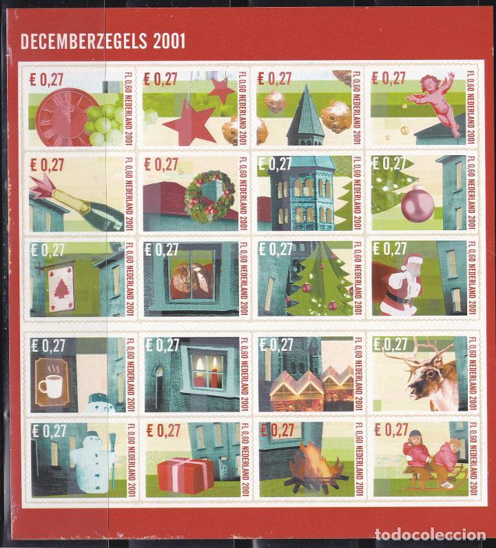 NAVIDAD399 HOLANDA 2001 NUEVO ** MNH FACIAL (Sellos - Temáticas - Navidad)