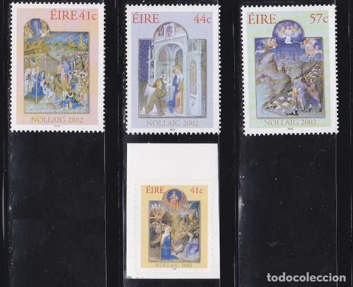 NAVIDAD438 IRLANDA 2002 NUEVO ** MNH FACIAL (Sellos - Temáticas - Navidad)
