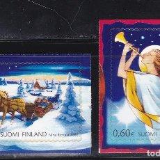 Sellos: NAVIDAD440 FINLANDIA 2002 NUEVO ** MNH FACIAL. Lote 198652901