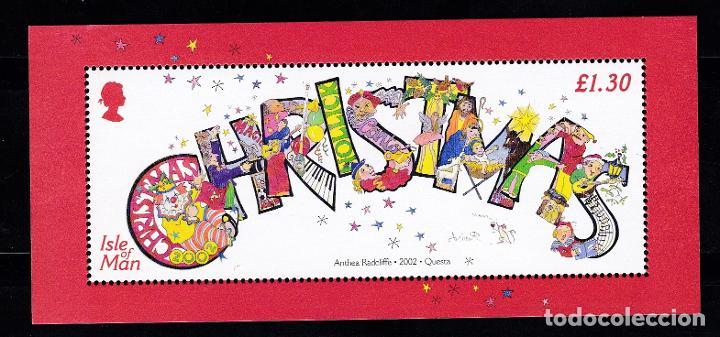 NAVIDAD453 ISLA MAN 2002 NUEVO ** MNH FACIAL (Sellos - Temáticas - Navidad)