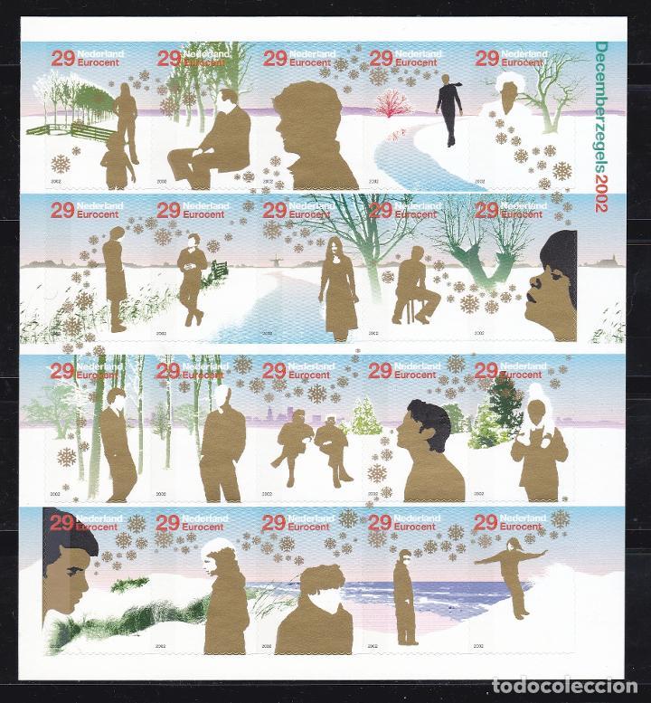 NAVIDAD454 HOLANDA 2002 NUEVO ** MNH FACIAL (Sellos - Temáticas - Navidad)