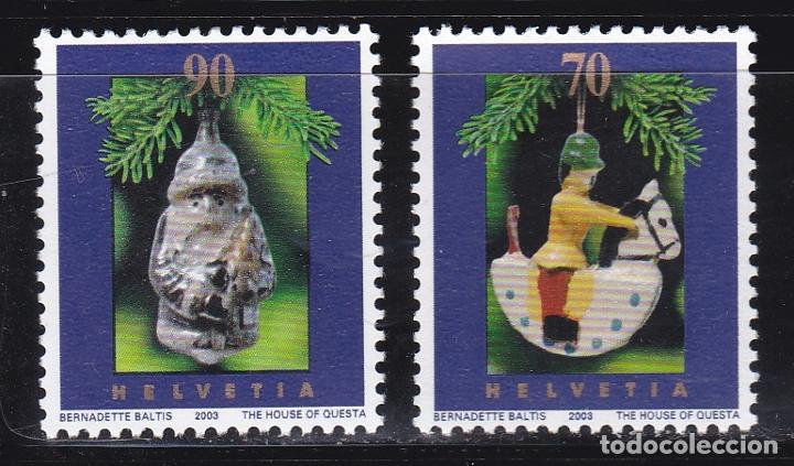NAVIDAD463 SUIZA 2003 NUEVO ** MNH FACIAL (Sellos - Temáticas - Navidad)