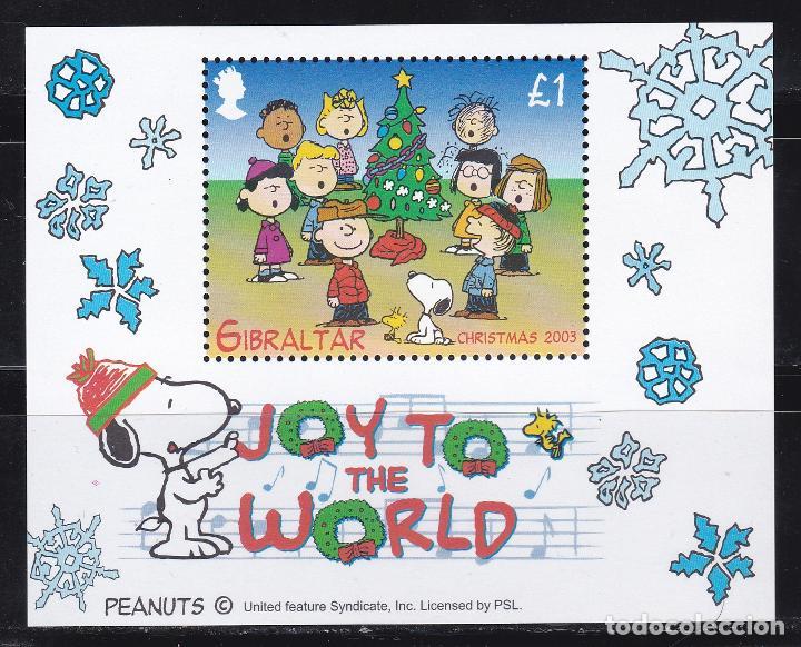 NAVIDAD475 GIBRALTAR 2003 NUEVO ** MNH FACIAL (Sellos - Temáticas - Navidad)