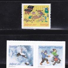 Selos: NAVIDAD606 SUECIA 2007 NUEVO ** MNH . Lote 199889095
