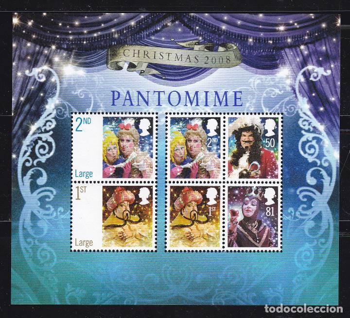 NAVIDAD611 INGLATERRA 2008 NUEVO ** MNH FACIAL 3,61 £ (Sellos - Temáticas - Navidad)