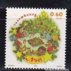 Selos: NAVIDAD651 LUXEMBURGO 2011 NUEVO ** MNH FACIAL. Lote 200057741