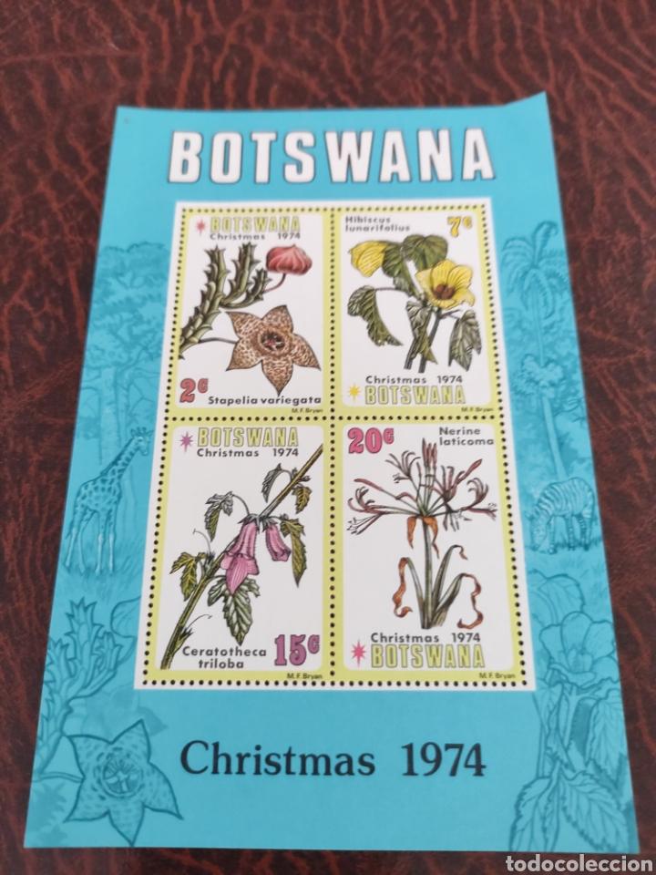 BOTSWANA NAVIDAD 1974 (Sellos - Temáticas - Navidad)