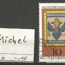 Sellos: ALEMANIA FEDERAL 1976 - MICHEL Nº 903 - DÍA DEL SELLO 1976 - USADO. Lote 204769533