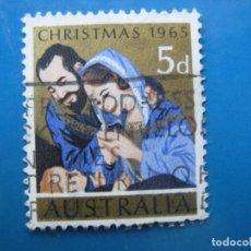 Sellos: +AUSTRALIA 1965, NAVIDAD, YVERT 317. Lote 205034040