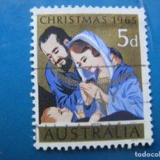 Sellos: +AUSTRALIA 1965, NAVIDAD, YVERT 317. Lote 205034186