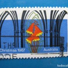 Sellos: +AUSTRALIA 1967, NAVIDAD, YVERT 362. Lote 205099028