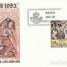 Sellos: EDIFIL 2729/30, NAVIDAD 1983, VICH,, PRIMER DIA DE 23-11-1983 SFC. Lote 205163445