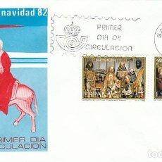 Sellos: EDIFIL 2681, NAVIDAD 1982 (COLEGIATA DE COVARRUBIAS, BURGOS) PRIMER DIA DE 23-11-1983 SFC. Lote 205163837