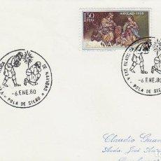Sellos: AÑO 1980, EXPOSICION NAVIDEÑA EN POLA DE SIERO (ASTURIAS). Lote 205165625