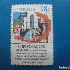 Sellos: +AUSTRALIA 1981, NAVIDAD, YVERT 756. Lote 205265161