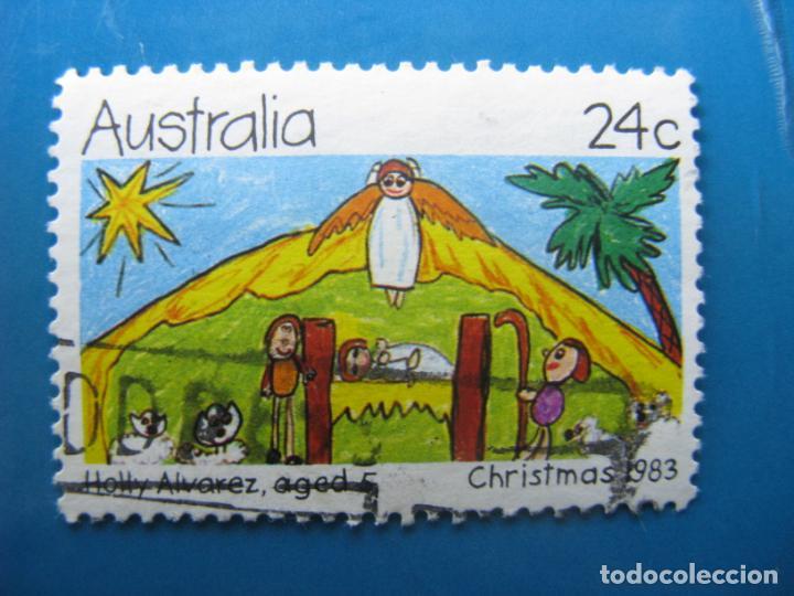 +AUSTRALIA 1983, NAVIDAD, YVERT 845 (Sellos - Temáticas - Navidad)