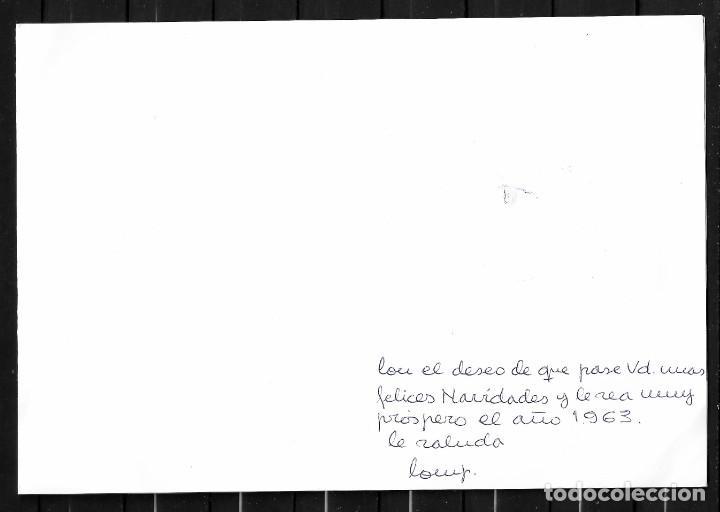 Sellos: Navidad, felicitación en díptico con 10 sellos de varios países y leyenda en varios idiomas - Foto 2 - 205405407