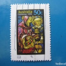 Sellos: +AUSTRALIA 1984, NAVIDAD, YVERT 878. Lote 205406465