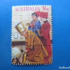 Sellos: +AUSTRALIA 1986, NAVIDAD, YVERT 982. Lote 206157208