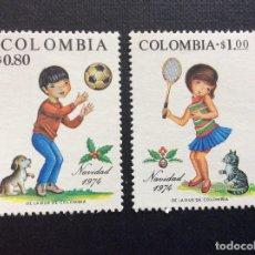 Sellos: COLOMBIA Nº YVERT 678/9*** AÑO 1974. NAVIDAD. Lote 206185397